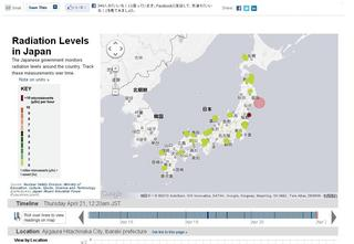 Radiation Levels in Japan - WSJ.com